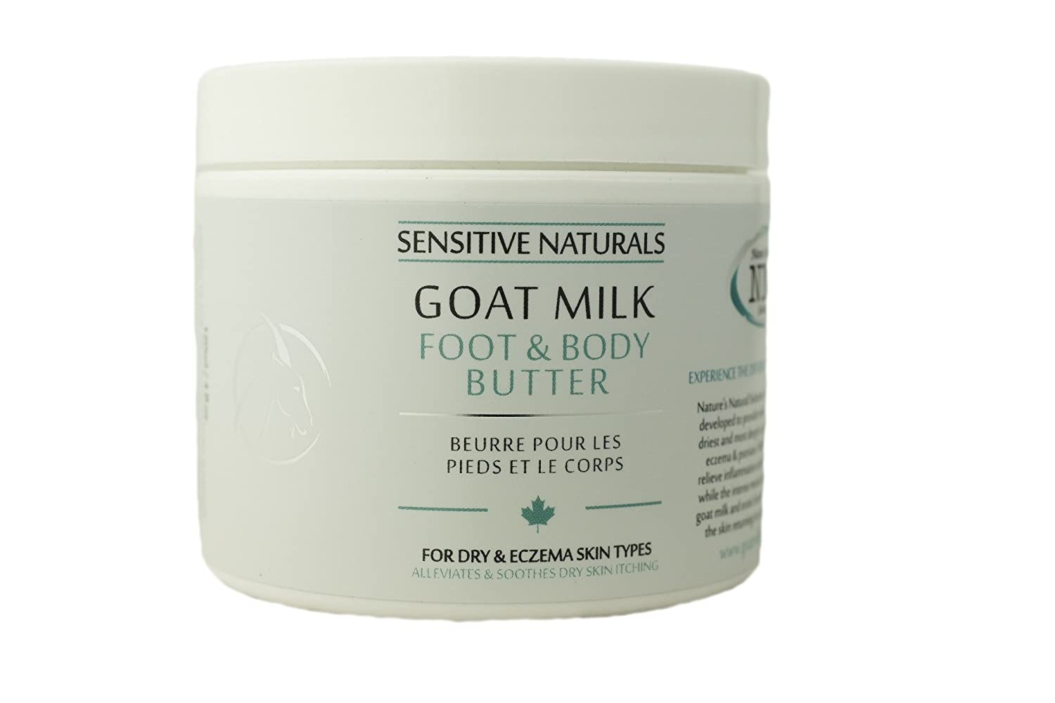 Nature's Natural Solutions Goat Milk Foot and Body Butter, 120ml