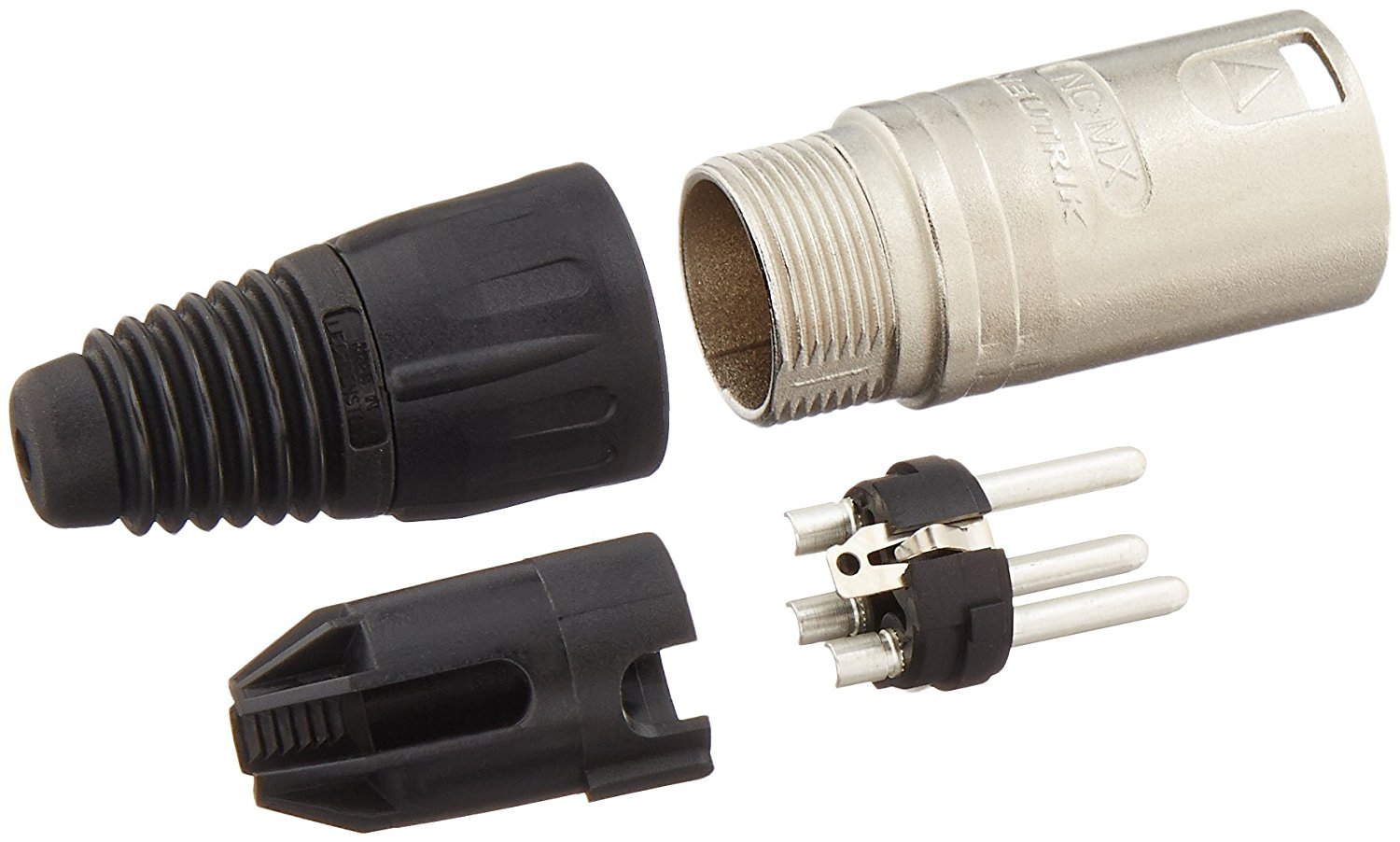 Neutrik ( NC3FX & NC3MX) Male & , 3-Pin XLR Cable Connector with on