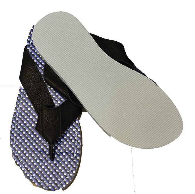 Hackett London , Tongs pour homme bleu Multi/bleu 42 EU: Amazon.fr:  Chaussures et Sacs