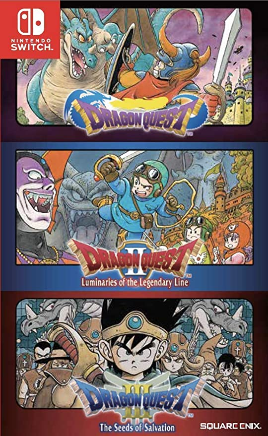 Dragon Quest 1 2 3 Collection Nintendo Switch English Subtitles ...