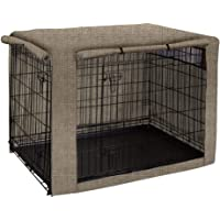 TUYU Dog Crate Cover, Dog Cage Cover, Durable Pet Kennel Cover, Perfect Two Entrance Dog Cage Cover for Wire Crate…