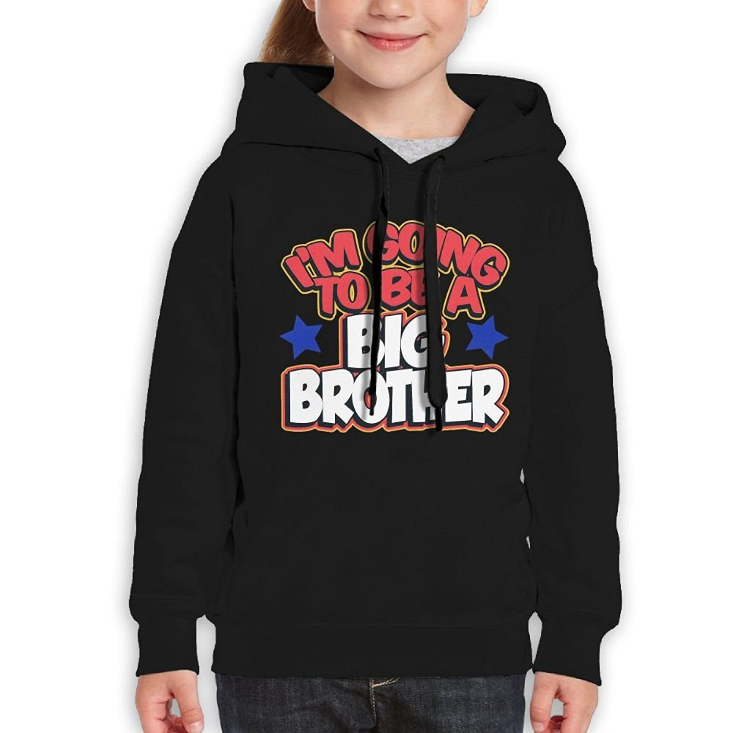 Starcleveland Teenager Pullover Hoodie Sweatshirt Im The Big Brother Teens Hooded Boys Girls