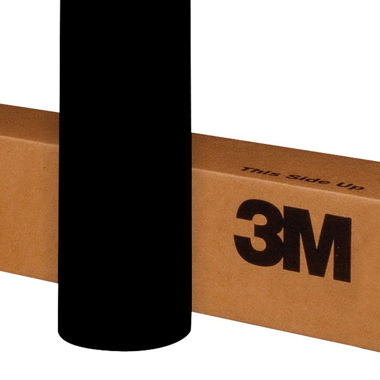 """3M 1080 BR212 BRUSHED BLACK METALLIC 60""""x12"""" Vinyl Wrap"""