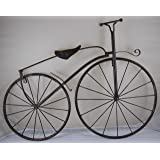 """25"""" Iron Antique Style Bicycle Wall Art"""