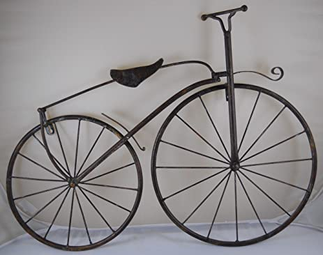 Delicieux 25u0026quot; Iron Antique Style Bicycle Wall Art