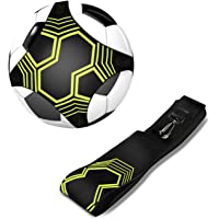 Soccer Trainer, Aid to Improve Ball Control Skills, Suitable for Adults & Kids Practicing Kicking, Shooting, Passing & Stopping.