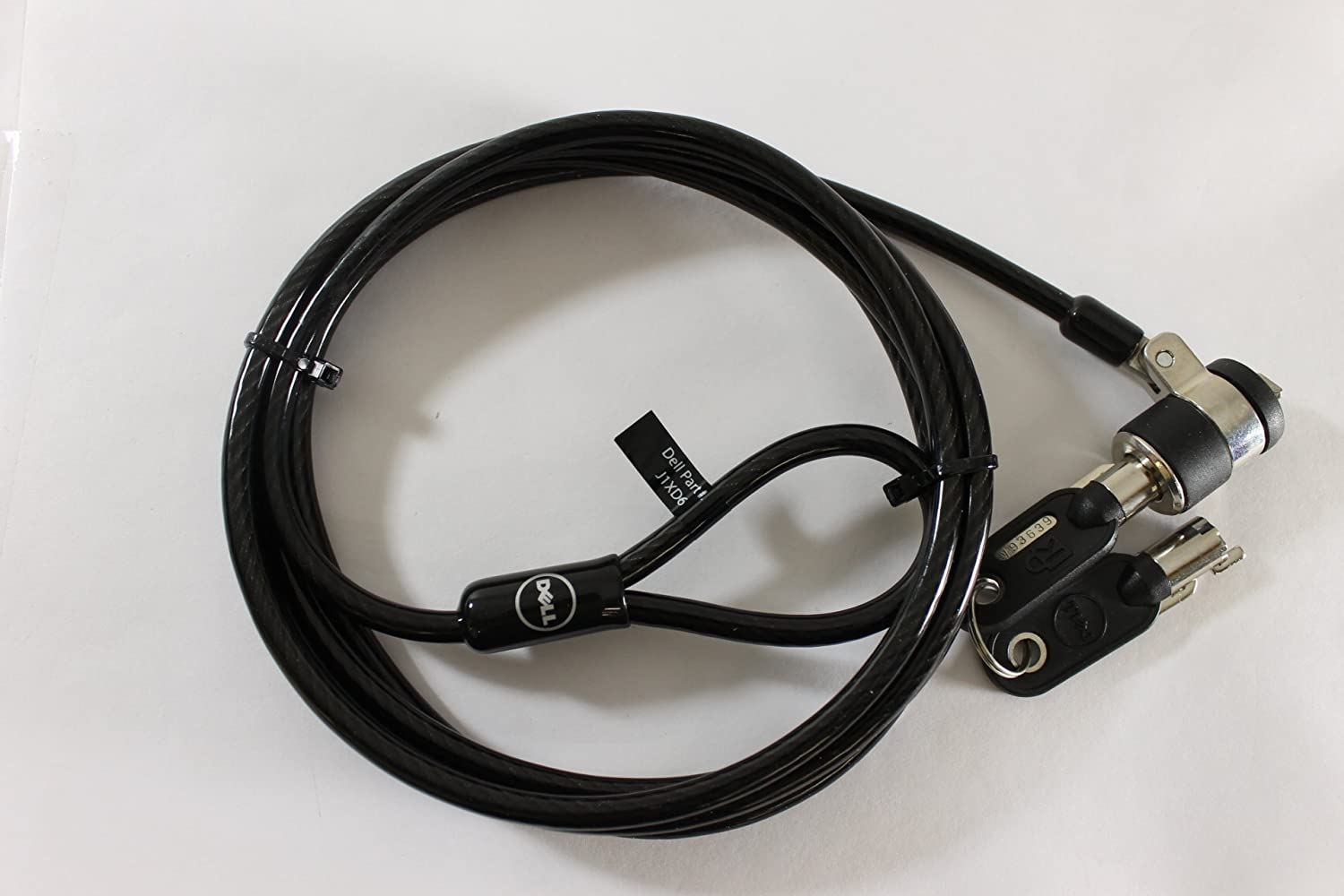 Dell J1XD6 6ft Premium Universal Laptop Security Keyed Cable Lock