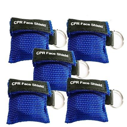 KAIMENG CPR - Llavero con máscara de emergencia y protector ...