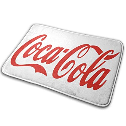 Coca Cola Bathroom Decor.Amazon Com Hqfmevvu Coca Cola Bath Mat Non Slip Bathroom Mats