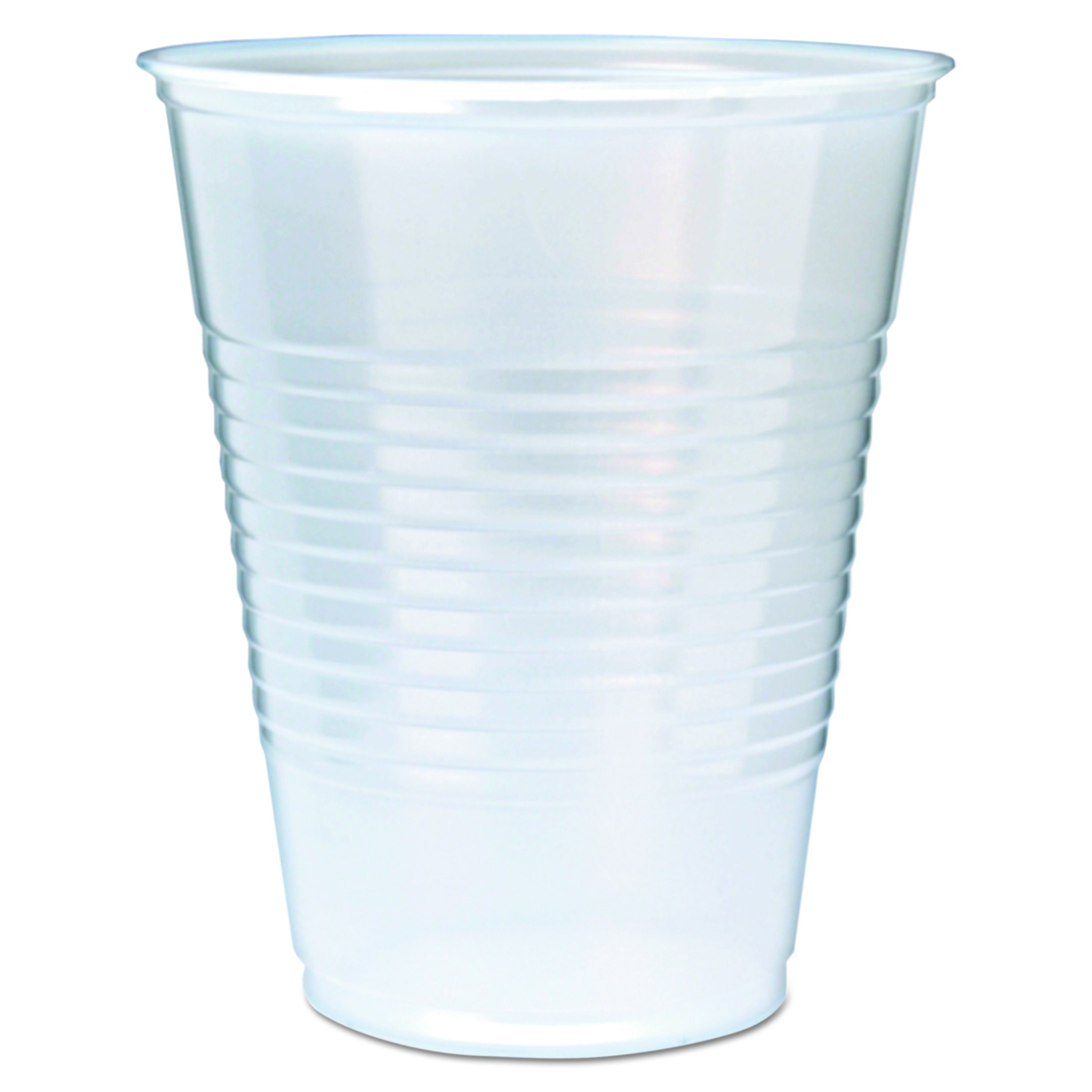 Fabri-Kal RK9 9-Ounce Capacity 3.1-Inch Top Width by 1.9-Inch Bottom Width by 3.6-Inch Height Translucent Polystyrene RK Drink Cup 100-Pack (Case of 25)