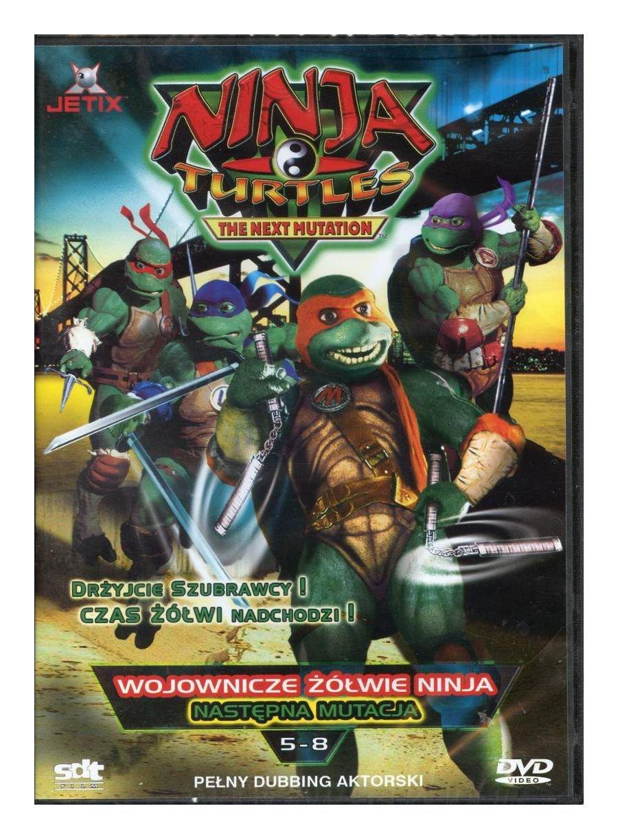 Amazon.com: Wojownicze ĹťĂlĹwie Ninja: NastÄpna mutacja odc ...