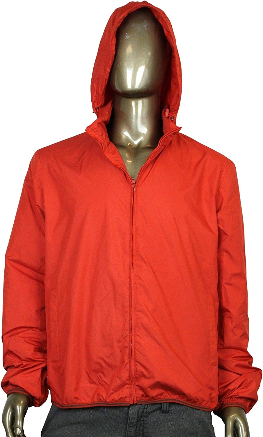 Gucci Techno Red Polyester Windbreaker Jacket 347509 7510 (G