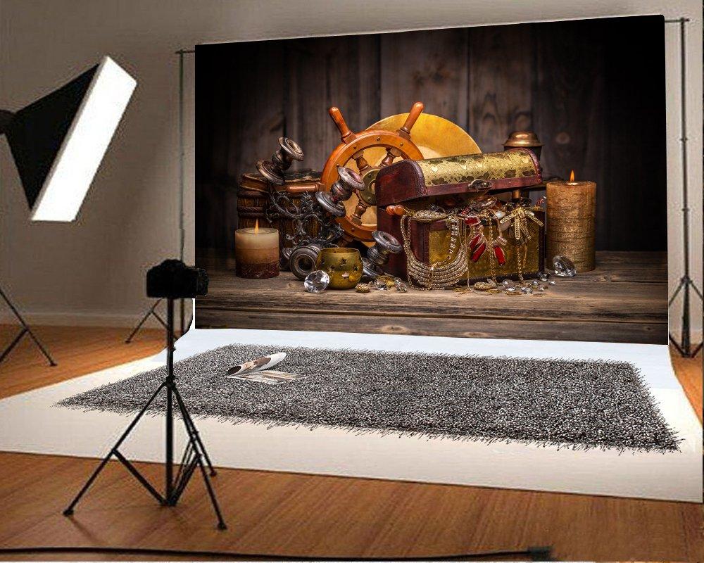 返品交換不可 8ft X Treasureスタイル写真背景10 Lfeey Rudder B07bhlvwkx Plankアウトドア 画像lovers大人用芸術的肖像写真の撮影小道具ビデオドレープ壁紙 Wooden バックペーパー背景布 Jaliscocomovamos Org