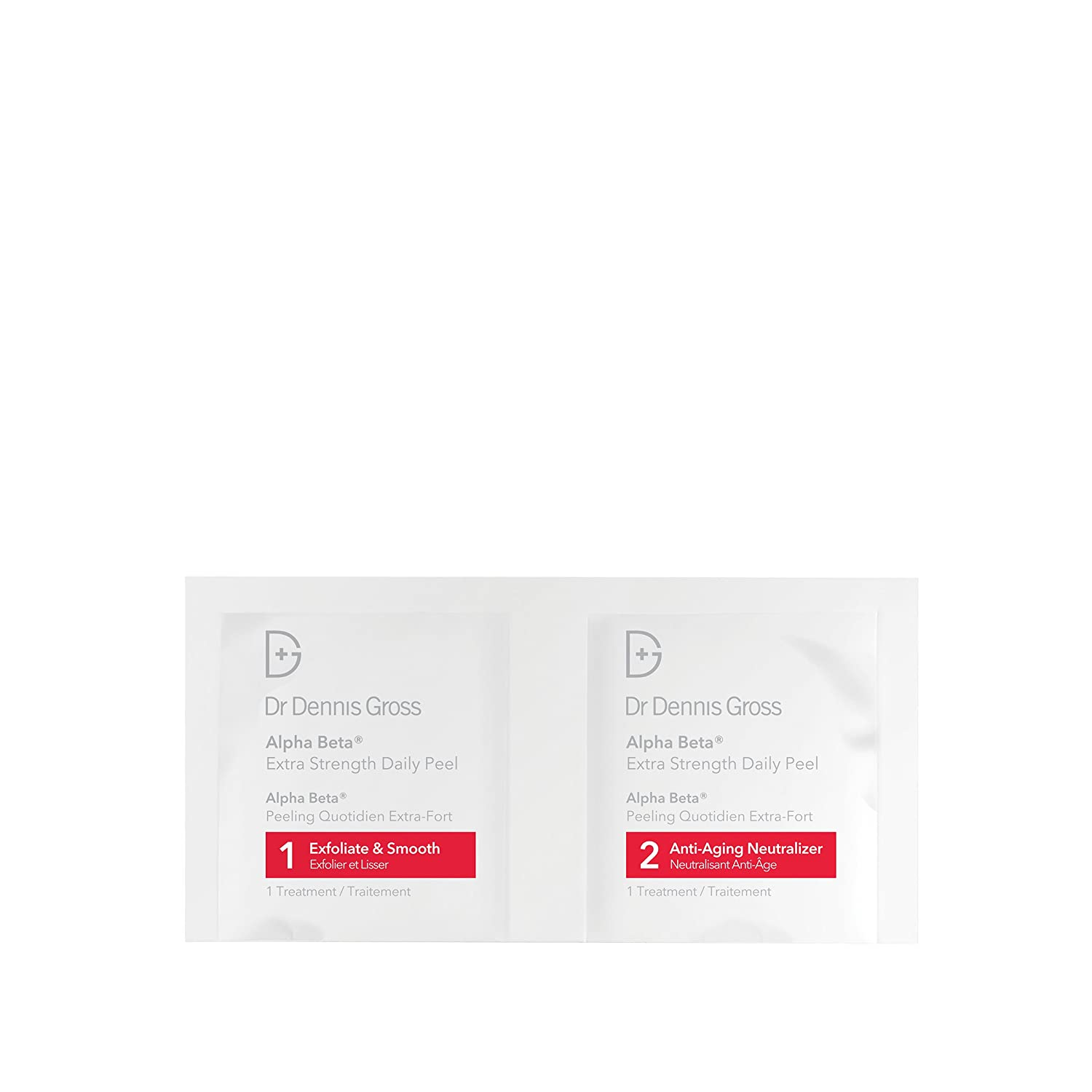 Dr Dennis Gross Alpha Beta Daily Peel extra Strength Formula packettes, 60 unidades: Amazon.es: Belleza