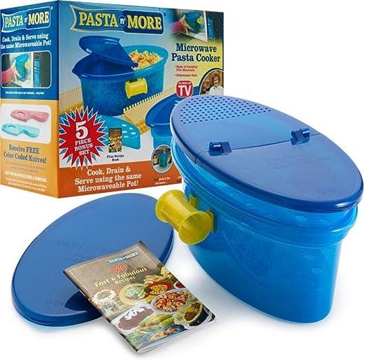Amazon.com: Pasta N más – Microondas Pasta Cooker – 80 ...