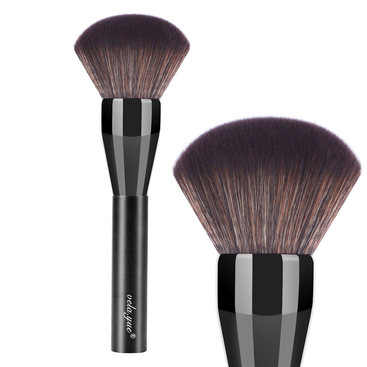 vela.yue Super Large Powder Brush Soft Fluffy Face Loose Mineral Foundation Makeup Brush