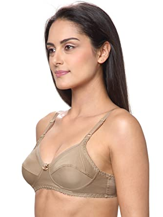 74fb4a7332 Lovable Cotton Non Padded Non Wired Full Coverage Skin Bra - All Day Long -  L