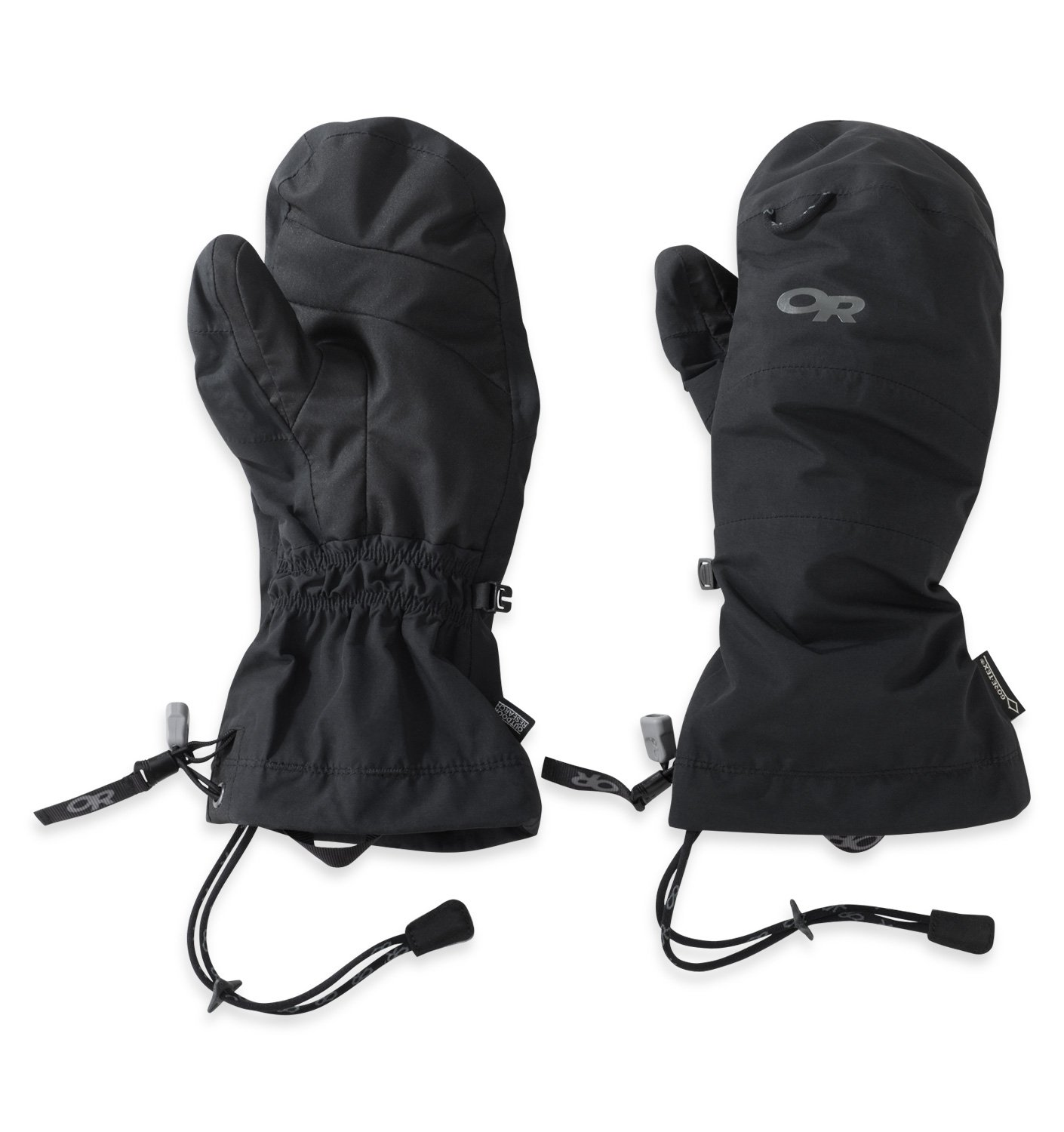 Outdoor Research Shuksan Mitts, Black, XL