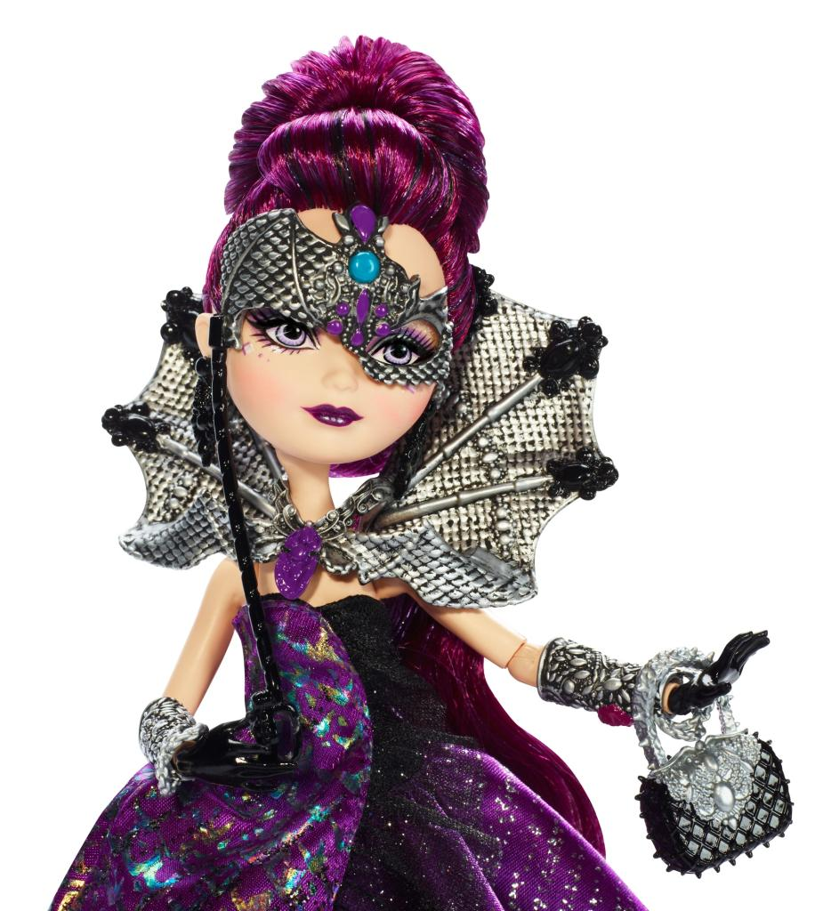 Amazon.com: Ever After High Thronecoming Raven Queen Doll ...