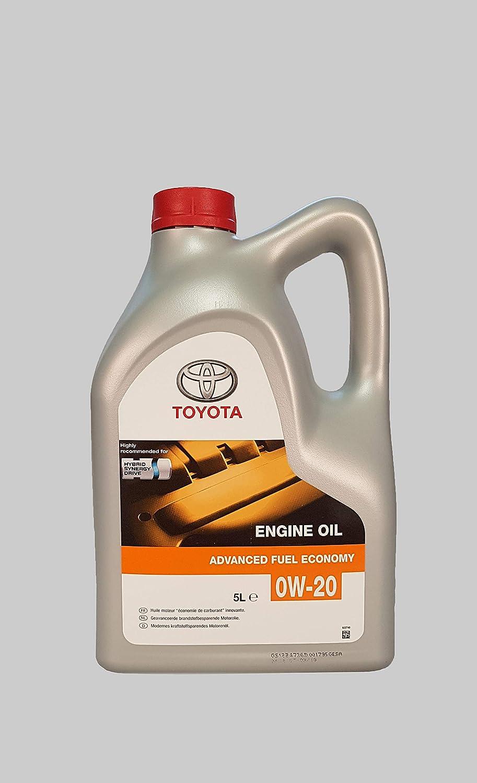 Toyota Advanced Fuel Economy 0w 20 5 Liter Liter 5 Liter Auto
