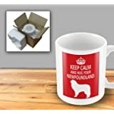 Dog Mug - Keep Calm And Hug Your Newfoundland
