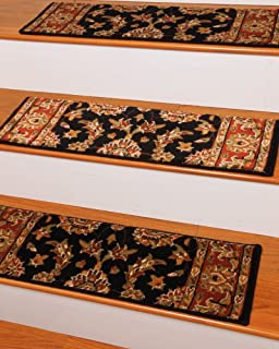 Sydney Carpet Stair Treads 9 Inch X 29 Inch Use Indoor, Set Of