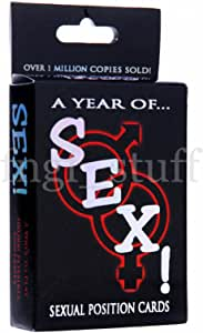 A Year of Sex! Sexual Position Card Game Foreplay Fun Sex Games Kama Sutra