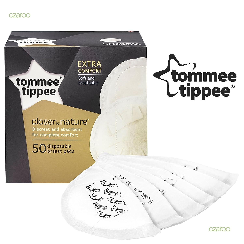 Coussinets d'allaitement jetables X50à partir de Tomme Tippee tommee tippee
