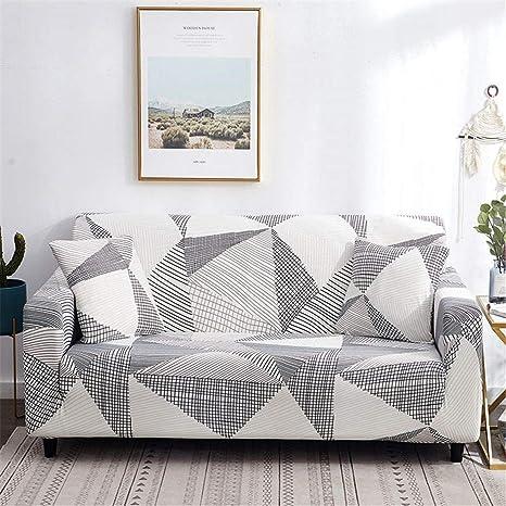 Amazon.com: Funda de sofá elástica de algodón para sofá de ...