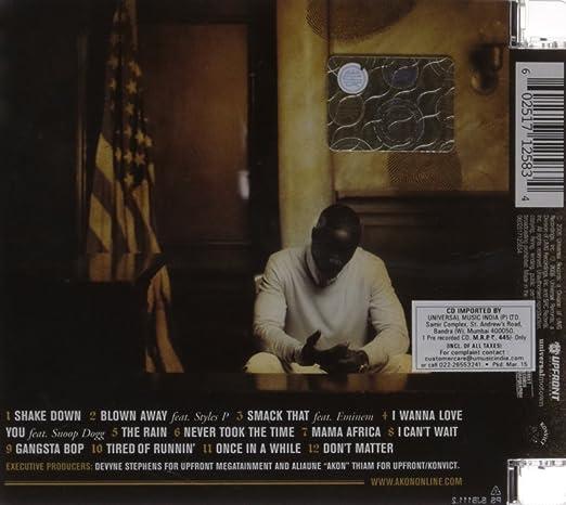 cd completo akon konvicted