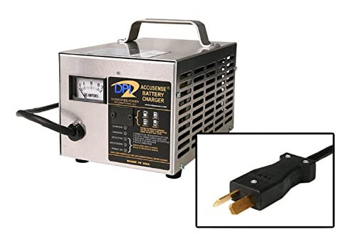 ​36volt 18 Amp Golf Cart Battery Charger with Crowfoot Connector