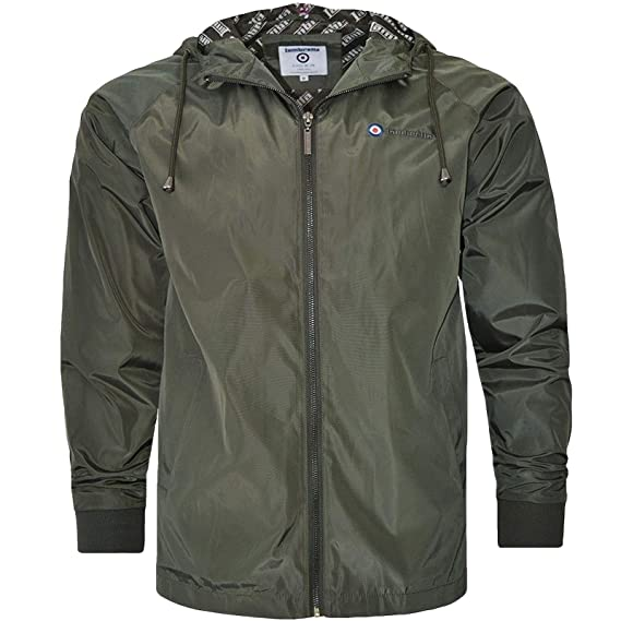 1ebc0009ef312 Lambretta Mens Hooded Lightweight Casual Jacket: Amazon.co.uk: Clothing