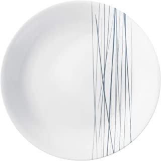 product image for Corelle Boutique Lunch Plate Silver Strands Chip Resistant 8.5in (21.6cm), 6 Pack