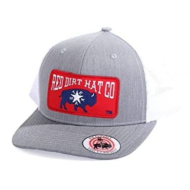 1d48c48cbc4 Image Unavailable. Image not available for. Color  Red Dirt Hat Co. Men s Heather  Grey Republic of Texas Cap
