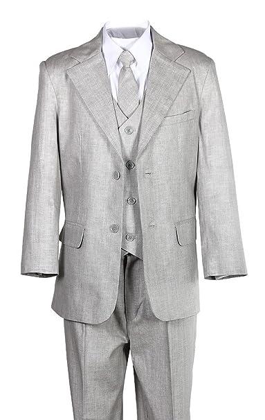 Amazon.com: Kids ropa de gris claro Suit, Material – Tamaño ...