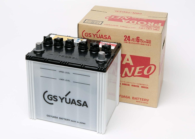 GS YUASA [ ジーエスユアサ ] 国産車バッテリー [ PRODA NEO ] PRN 75D23L B005032EMY