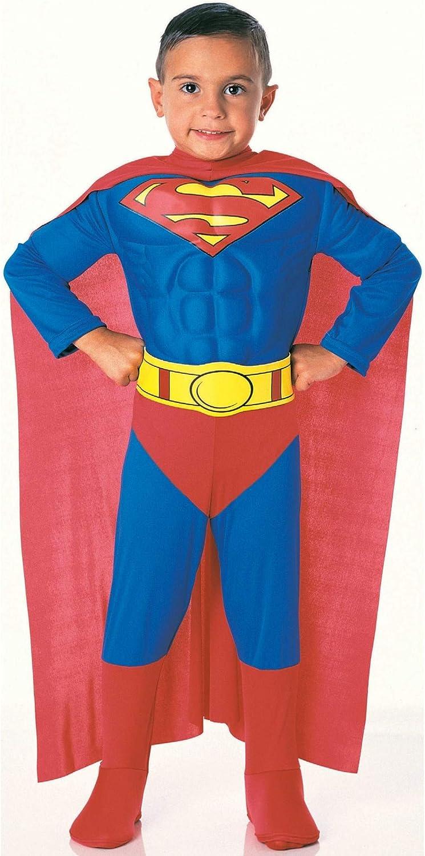 Rubie S Costume Da Superman Con Torace Imbottito Bambino 1 2 Anni Amazon It Giochi E Giocattoli