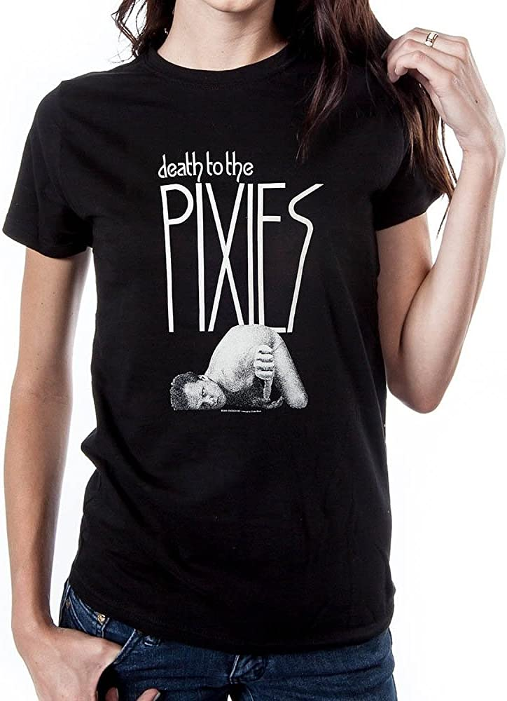 The Pixies Doolittle T Shirt Officially Licensed Mens Black Tee Rock Merch NEW