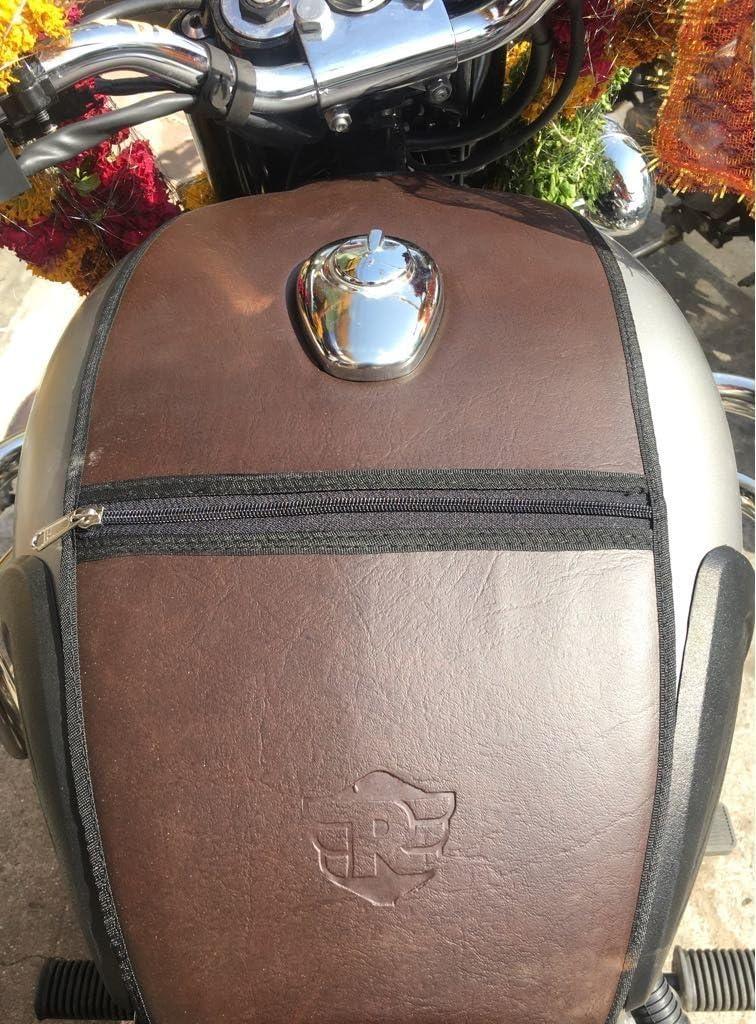 Sahara Gun Metall Coffee Brown Sitzbezug Und Tank Cover Für Royal Enfield Classic 350 500 Auto