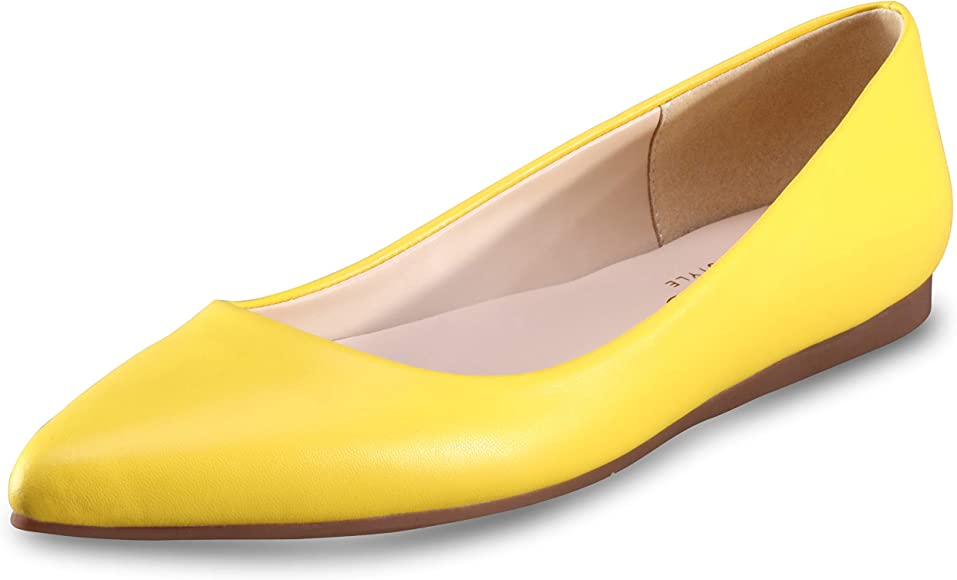 Women's Flat Shoes Classic Leather