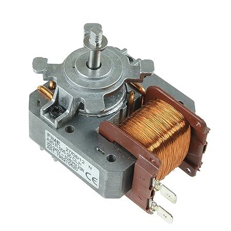 Spares2go - Unidad de motor de ventilador para horno Smeg (20 W ...