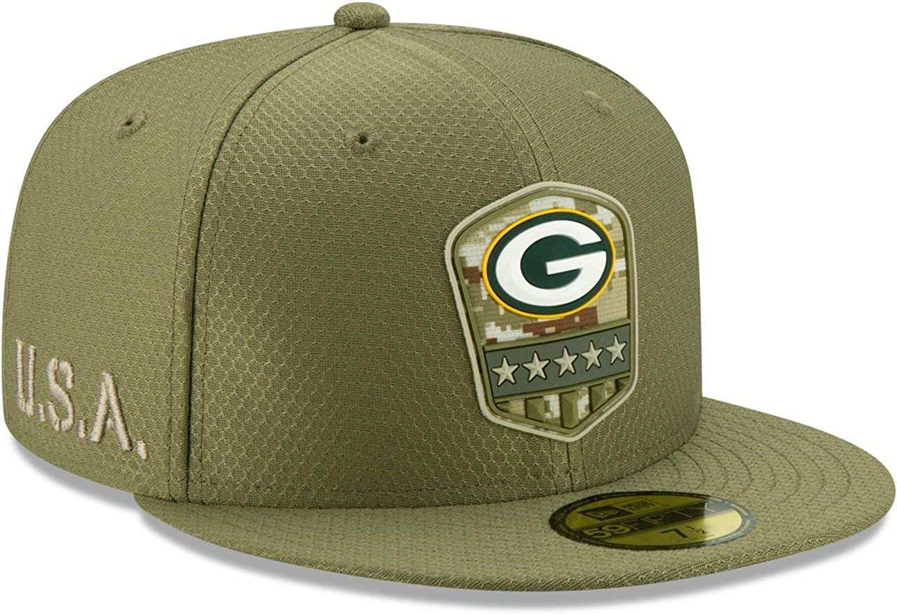 Salute to Service Green Bay Packers New Era 59Fifty Cap