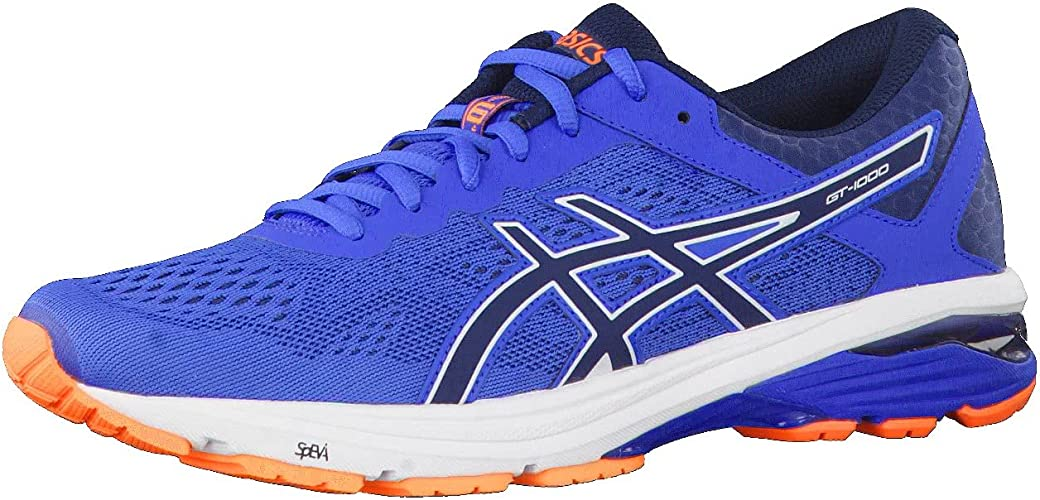 Buy ASICS GT-1000 6 Mens Running Trainers T7A4N Sneakers Shoes (UK ...