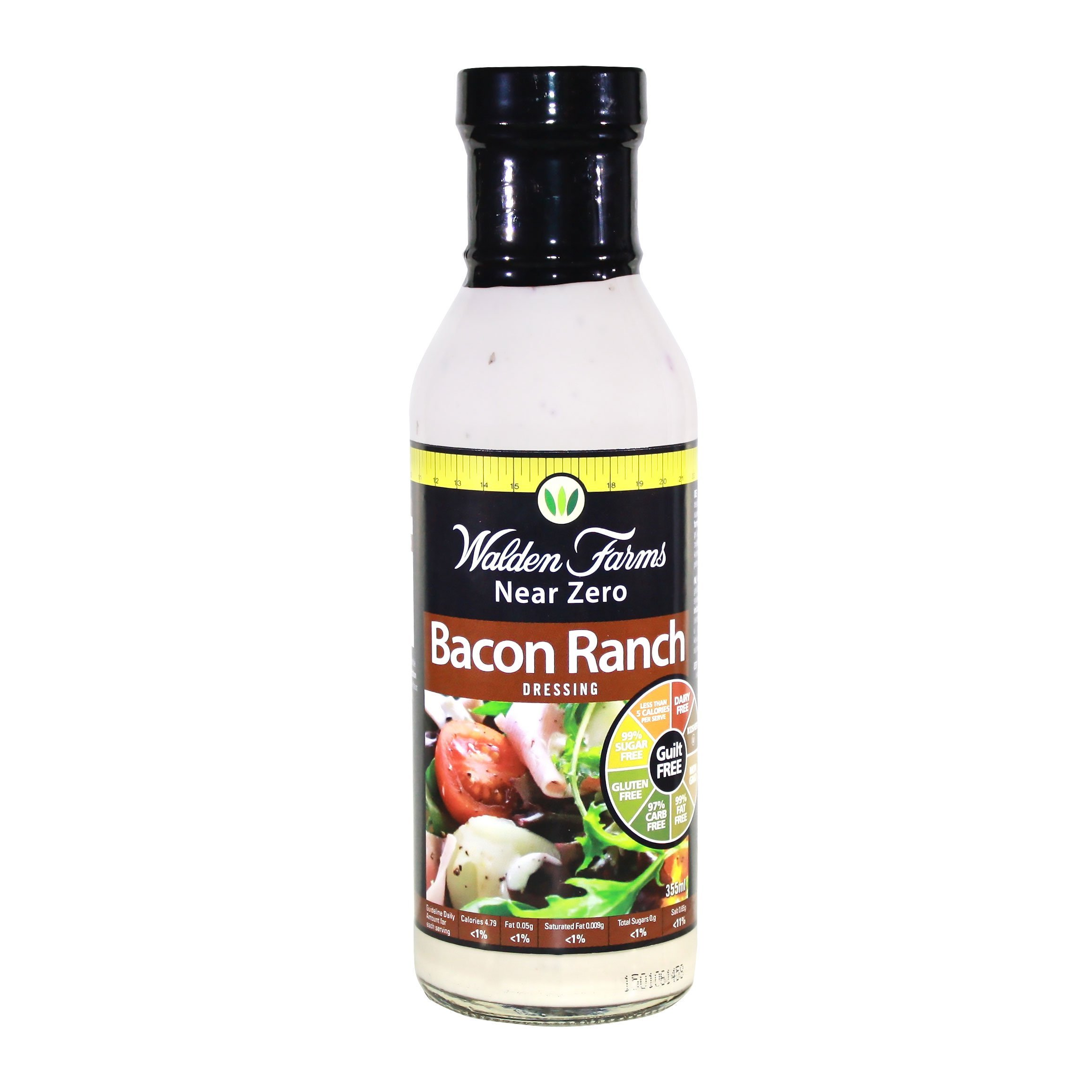 Walden Farms Bacon Ranch Dressing-12 oz 2 Pack