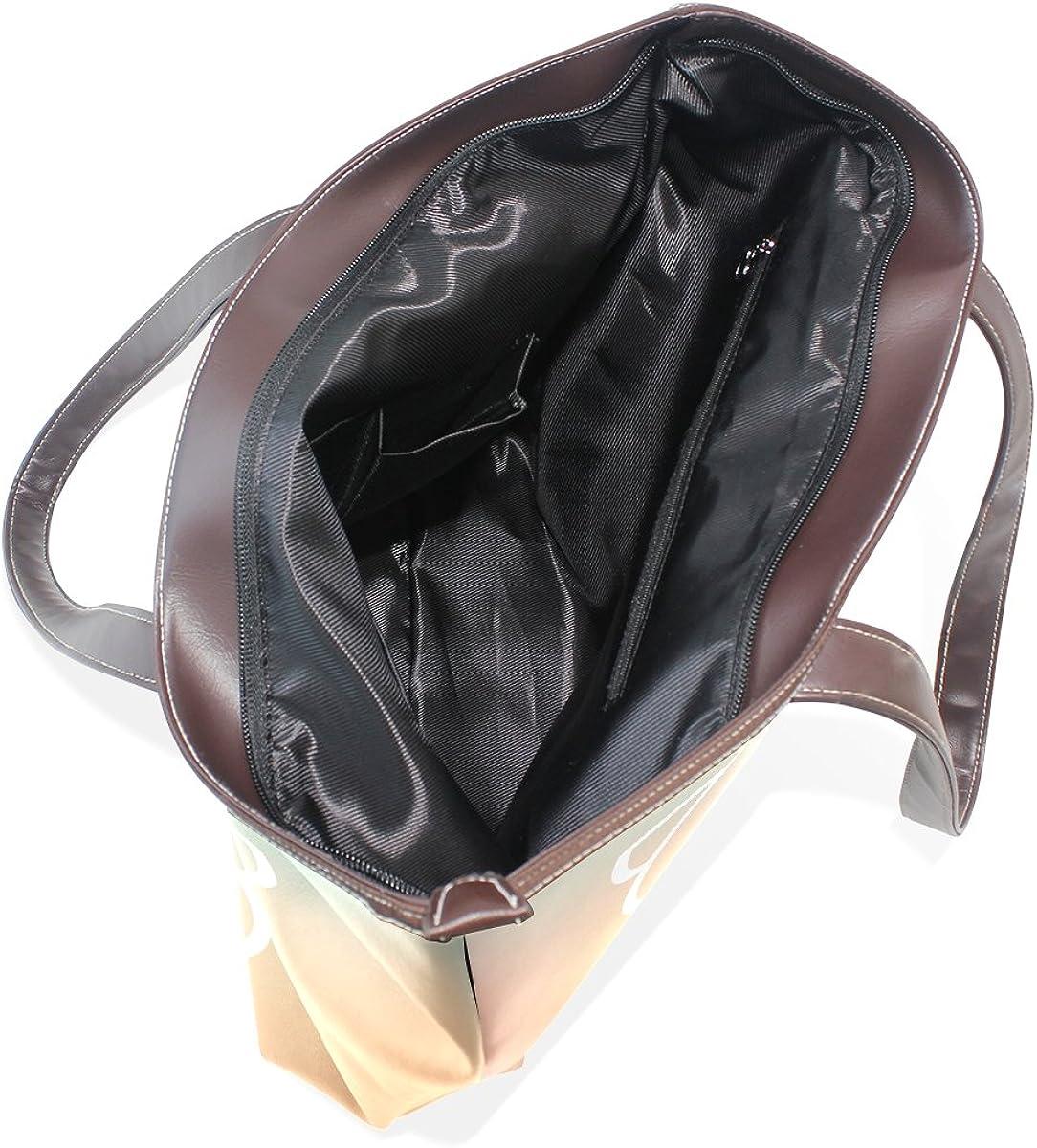 IMOBABY Women Leather Tote Top Handle Tote Shoulder Bags Handbags Cute Pig for Girls Ladies