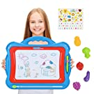 NextX Magnetic Drawing Board,Educational Writing and Learning Doodle Pad for Toddlers Boys Girls Age of 2,3,4,5,6 Year Old ,Etch a Sketch