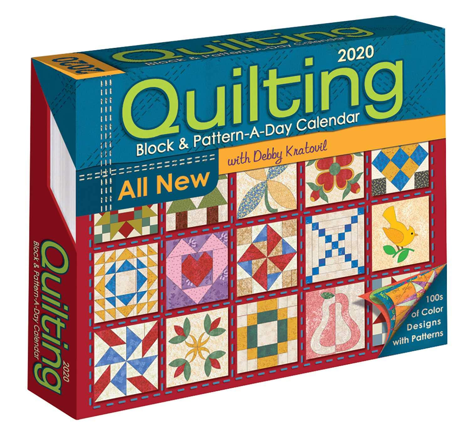 Quilting Block and Pattern-a-Day 2020 Activity Calendar