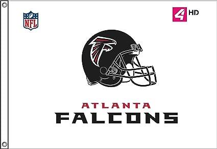 size 40 cd8c6 5a2b8 Amazon.com : Custom Flags SHOP; 3X5 Atlanta Falcons FLAG ...