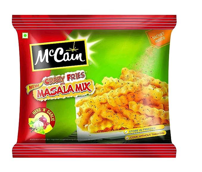 McCain Crazy Fries Masala Mix, Herb n Garlic, 175g