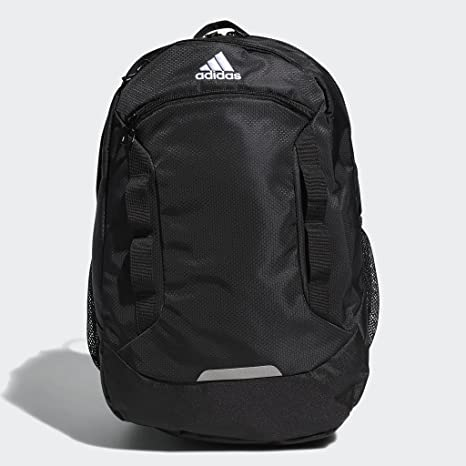 adidas Excel Backpack, Black/White, One Size